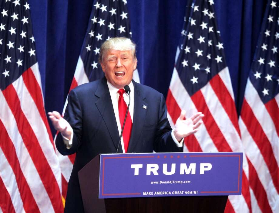"Border wall ""I will build a great great wall on our southern border and I'll have Mexico pay for that wall."" Keep clicking to learn more about the comments that are making Donald Trump persona non grata in Mexico, and read above to see the memes taking on Trump. Photo: Steve Sands, Getty Images"
