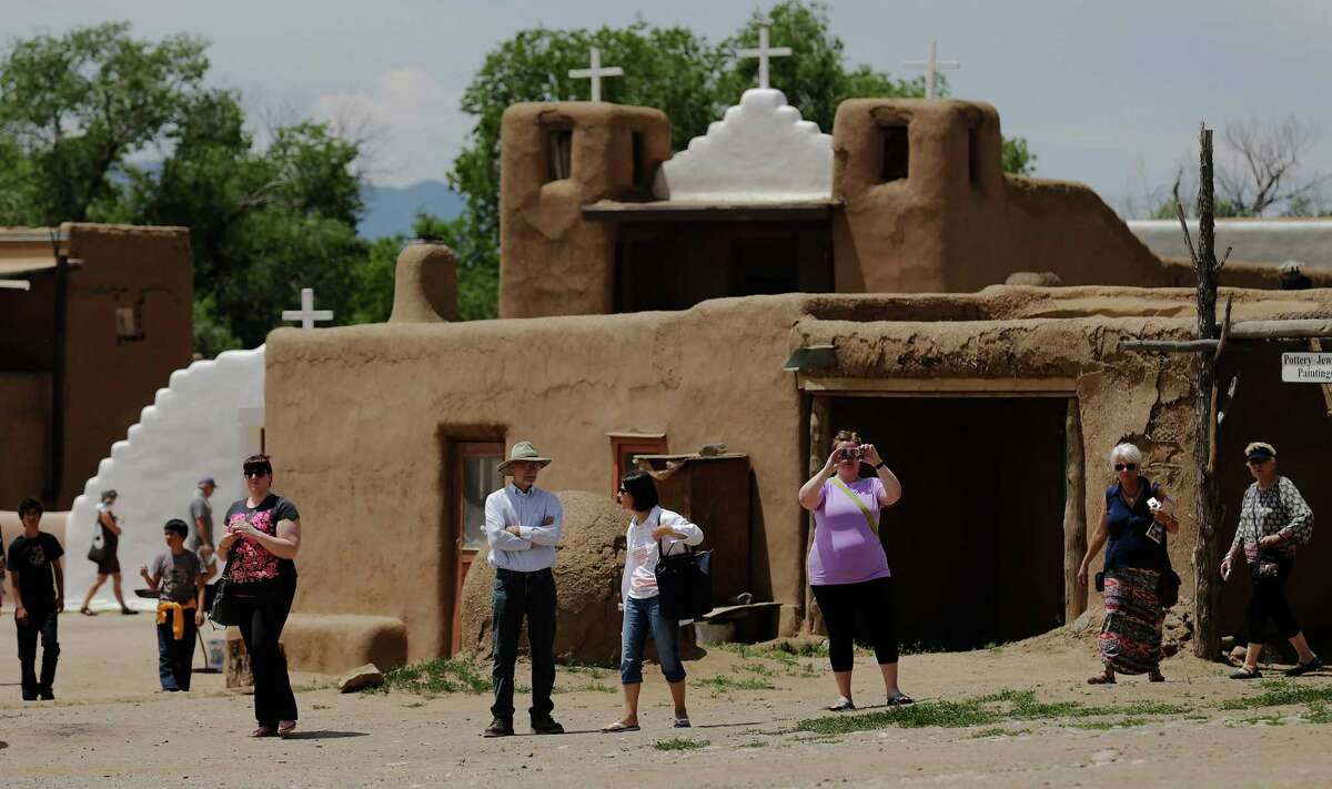 Taos, New Mexico Reasons To Go: Walk the epic landscapes, see the impressive Taos Pueblo and enjoy a variety of cultural events that happen all year long. A perfect complement to a trip to Santa Fe.