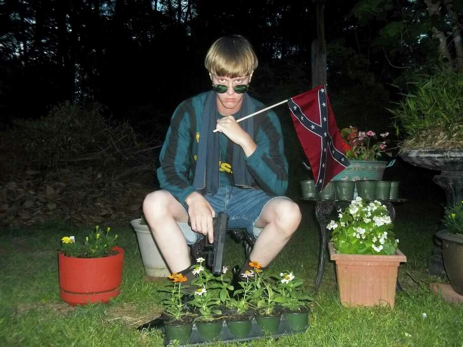 White supremacist website Last Rhodesian has dozens of photos of Charleston, S.C., church shooting suspect Dylann  Roof. Photo: Courtesy Photo /lastrhodesian.com / HANDOUT