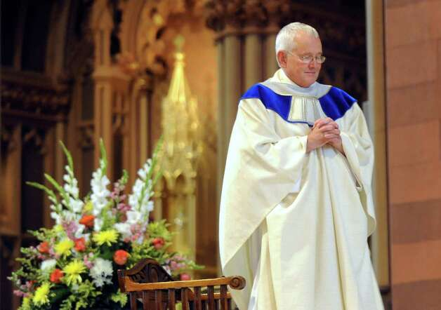 The Rev. Rick Lesser during his ordination to the priesthood on Saturday, June 20, 2015, at the Cathedral of the Immaculate Conception in Albany, N.Y. (Cindy Schultz / Times Union) Photo: Cindy Schultz / 00032345A