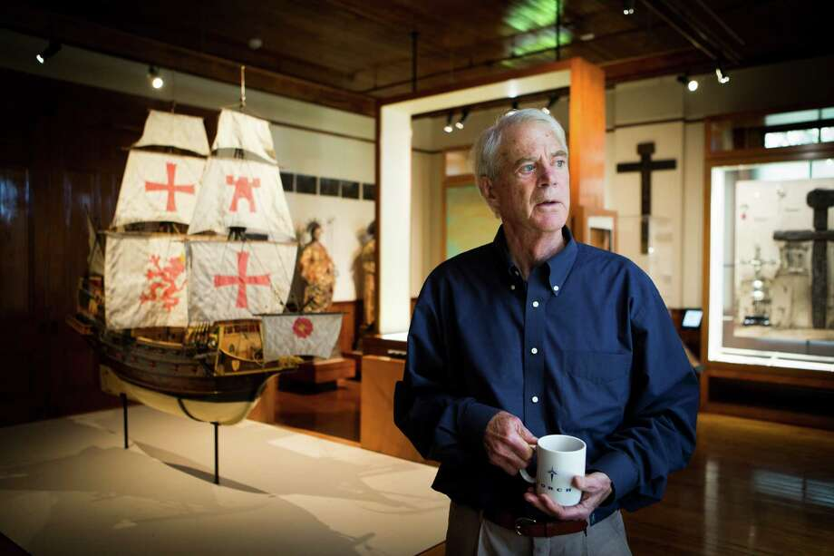 J.P. Bryan has enjoyed sharing the artifacts he's collected over the years so much he opened a museum. Photo: Photos By Marie D. De Jesus /Houston Chronicle / Houston Chronicle