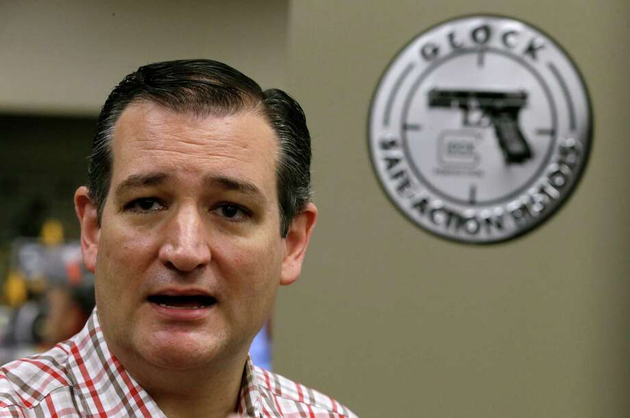 """After the Supreme Court's decision to legalize gay marriage and ruling in favor of Obamacare, Senator Ted Cruz said, """"Today -- it's some of the darkest 24 hours in our nation's history. Yesterday and today were both naked and shameless judicial activism."""" Photo: Charlie Neibergall, STF / AP"""