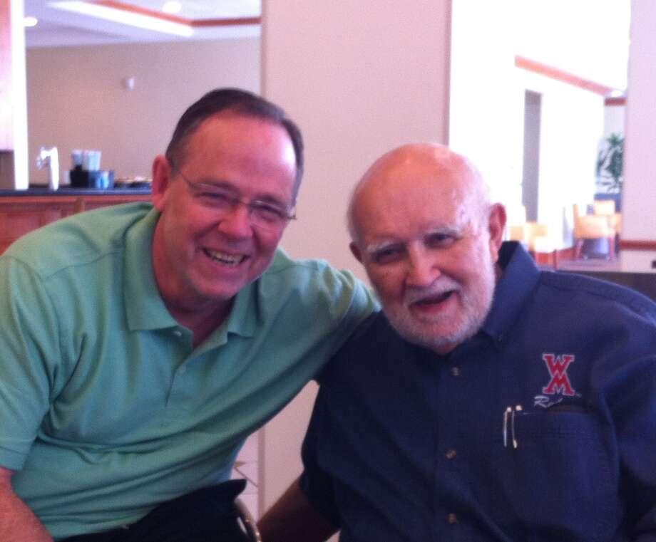 Ken Davis and biological father David Johnson. Photo: Courtesy Photo