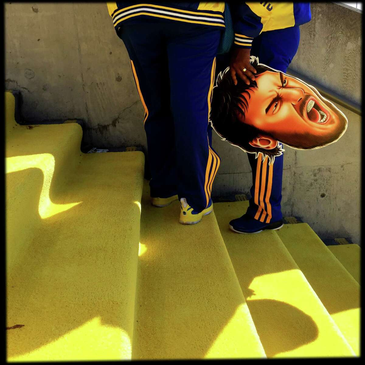 NBA Finals' iPhone photos at Oracle Arena in Oakland, Calif..