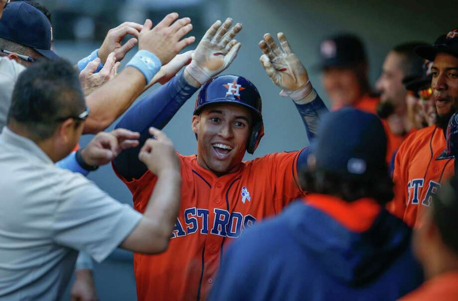 George Springer Photo: Otto Greule Jr, Getty Images / 2015 Getty Images