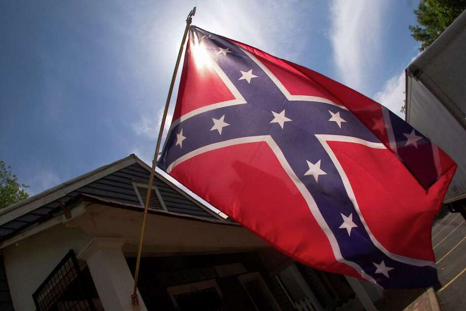 The Confederate battle flag is no longer for sale at San Antonio's Dixie Flag Manufacturing Company.   Photo: Steve Schaefer, Getty Images / America 24-7