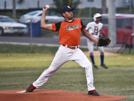 Juan Zamora of the Astros. Photo: Danny Zaragoza / LAREDO MORNING TIMES
