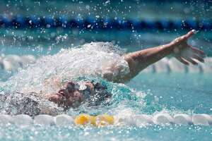 Swimmers crowd the fast lane headed to worlds, Rio - Photo