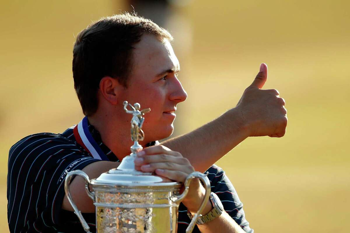 Jordan Spieth, 21, became the youngest winner of the U.S. Open since Bobby Jones in 1923. Spieth beat Dustin Johnson and Louis Oosthuizen by a stroke.Take a look inside the Masters champion's new Dallas mansion.