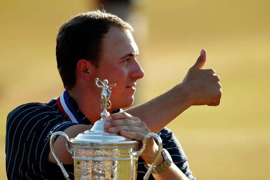 Jordan Spieth, 21, became the youngest winner of the U.S. Open since Bobby Jones in 1923. Spieth beat Dustin Johnson and Louis Oosthuizen by a stroke. Take a look inside the Masters champion's new Dallas mansion. Photo: Ezra Shaw, Staff / 2015 Getty Images