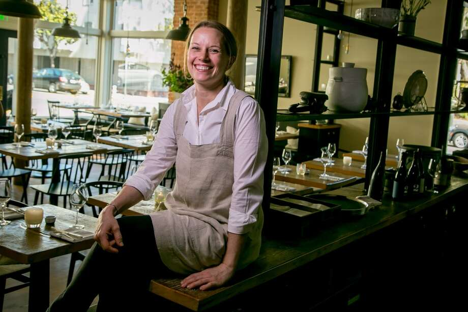 Chef/owner Melissa Perello at Octavia in San Francisco, Calif., is seen on June 12th, 2015. Photo: John Storey