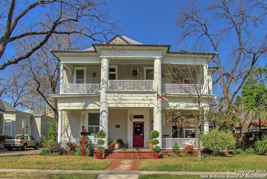225 W. Craig Place, San Antonio, Texas 78212 Year built: 1904 Price: $795,000 Bedrooms: 5 Bathrooms: 5.5 Home size (square feet): 3,484 Lot size (square feet): 9,147MLS: 1099674 Photo: Courtesy,  Trulia