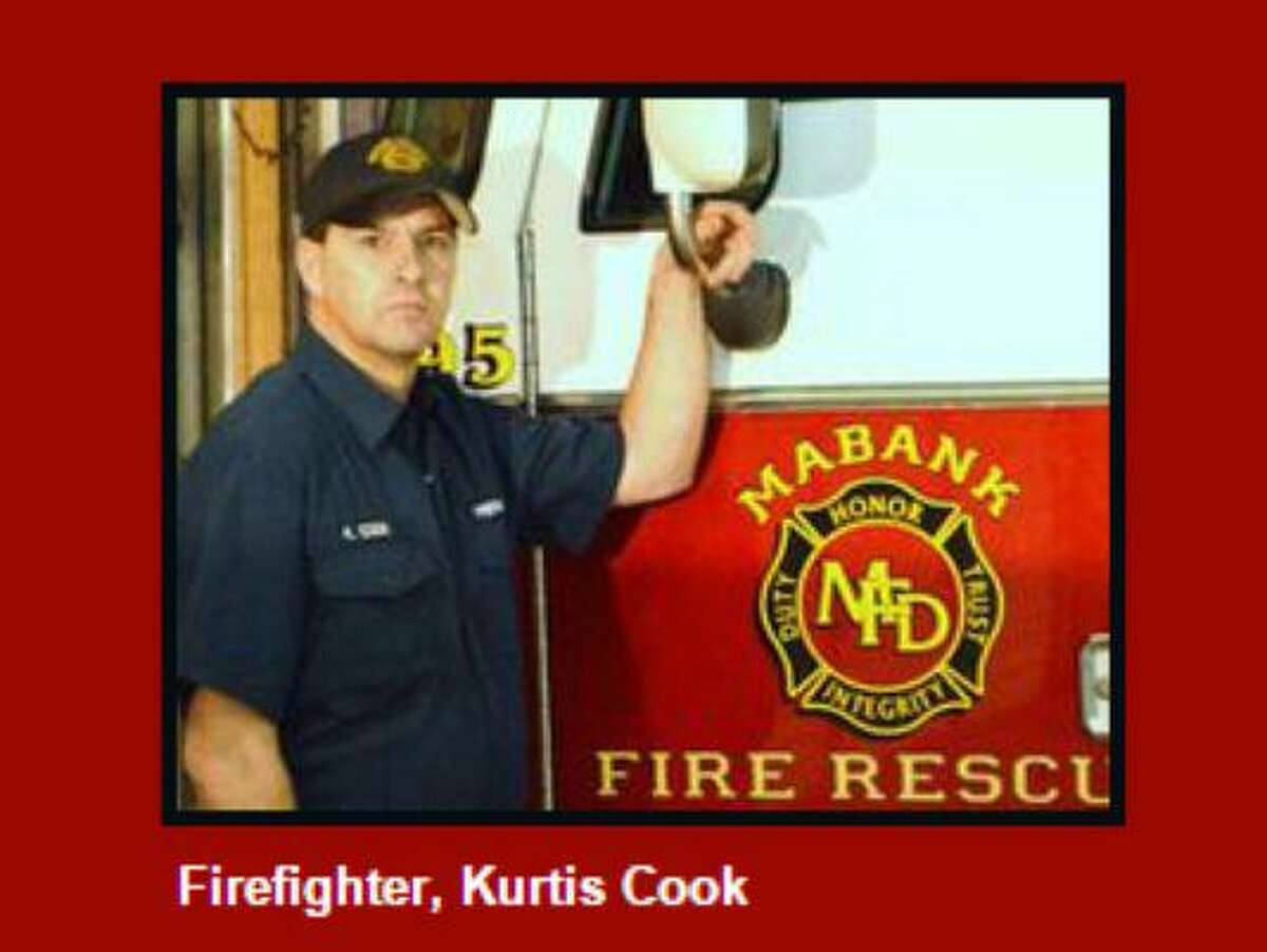 Kurtis Cook, a volunteer firefighter for the Mabank Fire Department, was terminated June 19, 2015, after making a Facebook comment supporting Dylann Roof, the alleged gunman in a mass shooting at a historically black church in Charleston that left nine people dead.