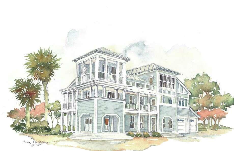 Houston Designer Gives Beach Showhouse A Gulf Coast Vibe