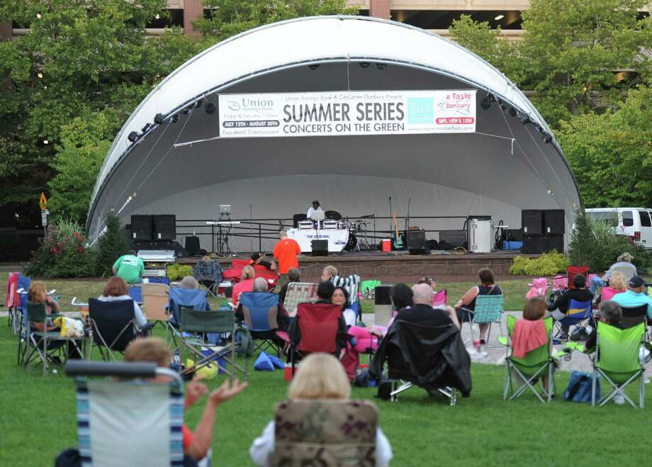 Enjoy a free concert this Friday at CityCenter Green in Danbury! Click here for the schedule. Photo: Tyler Sizemore / The News-Times