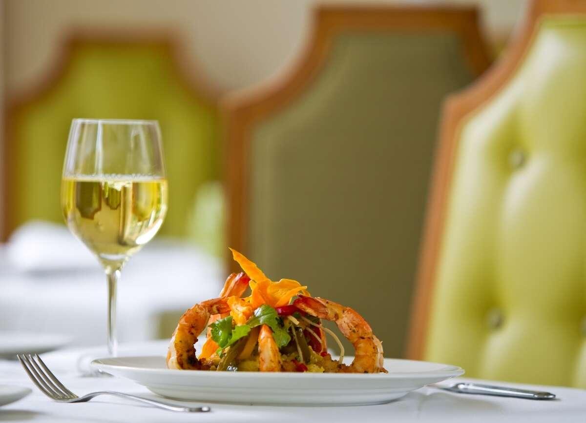 Brennan's restaurant's Gulf Coast Shrimp Chippewa Thursday, June 3, 2010,in Brennan's Houston in Houston. ( Nick de la Torre / Chronicle )