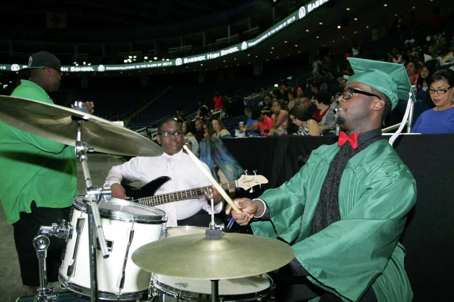 The 2015 Bassick High School commencement ceremony at The Arena at Harbor Yard  in Bridgeport on Monday, June 22, 2015. Photo: Matthew Brown, For Hearst Connecticut Media / Connecticut Post Freelance