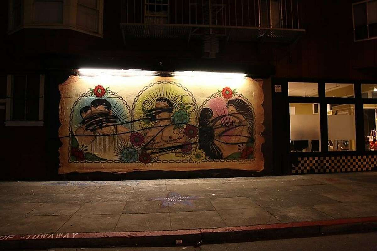 A mural celebrating LGBT culture in San Francisco's Mission District was defaced for the second time in a week.