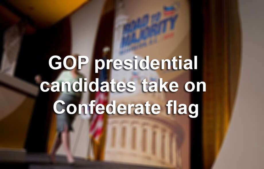 See what some of the GOP presidential candidates had to say about the removal of the Confederate flag. Photo: Courtesy