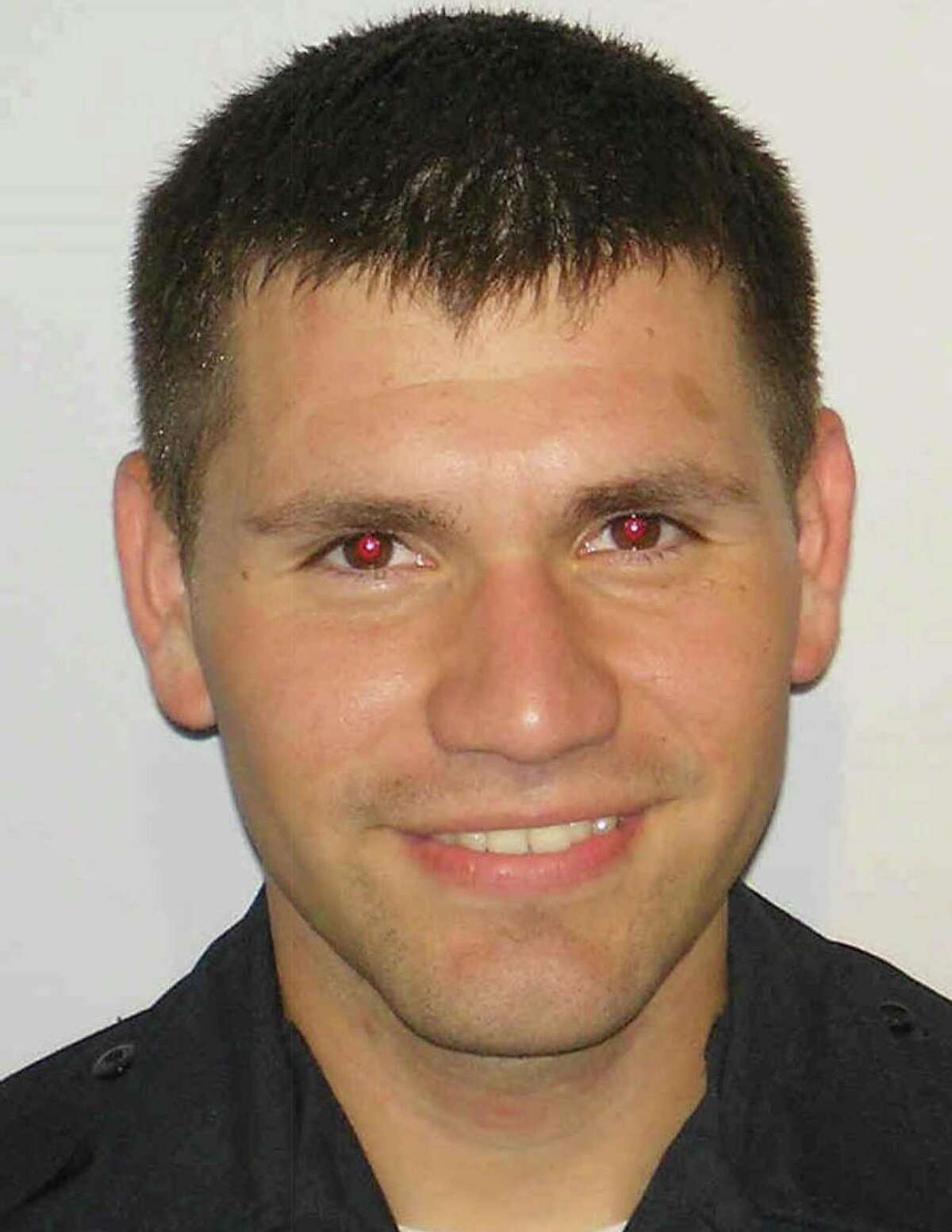 Detective Leroy Medlin Jr., shown here in a 2015 photo, was suspended indefinitely in October.
