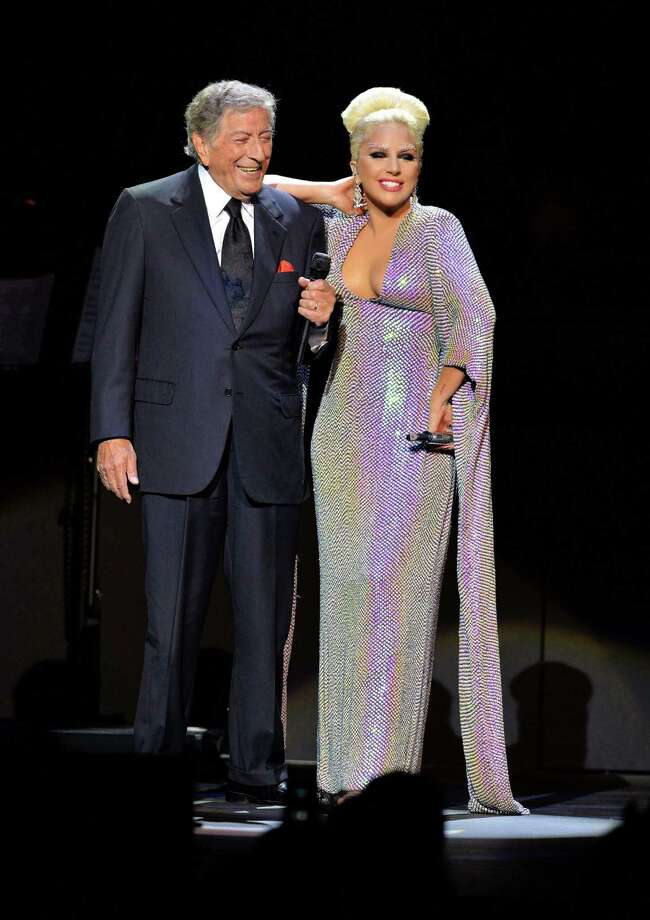 Tony Bennett and Lady Gaga are coming to Wallingford. The duo's release of this album of pop and jazz standards earned them a Grammy award this year for best traditional pop vocal. (Photo by Mark Allan/Invision/AP) Photo: Mark Allan /Invision /Associated Press / Invision
