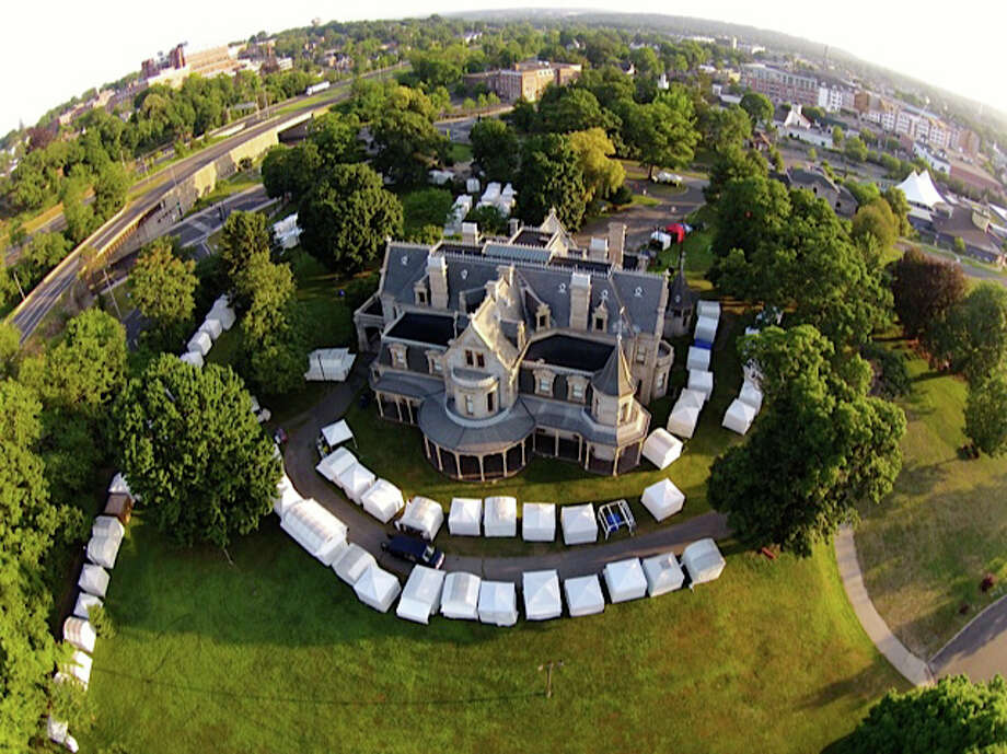 The grounds near the Lockwood-Mathews Mansion Museum in Norwalk will serve as home for two days, Saturday and Sunday, June 27 and June 28, for the third annual Norwalk Art Festival. Photo: Contributed Photo / Stamford Advocate