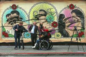 Fiery attack latest vandalism of LGBT mural in Mission District - Photo
