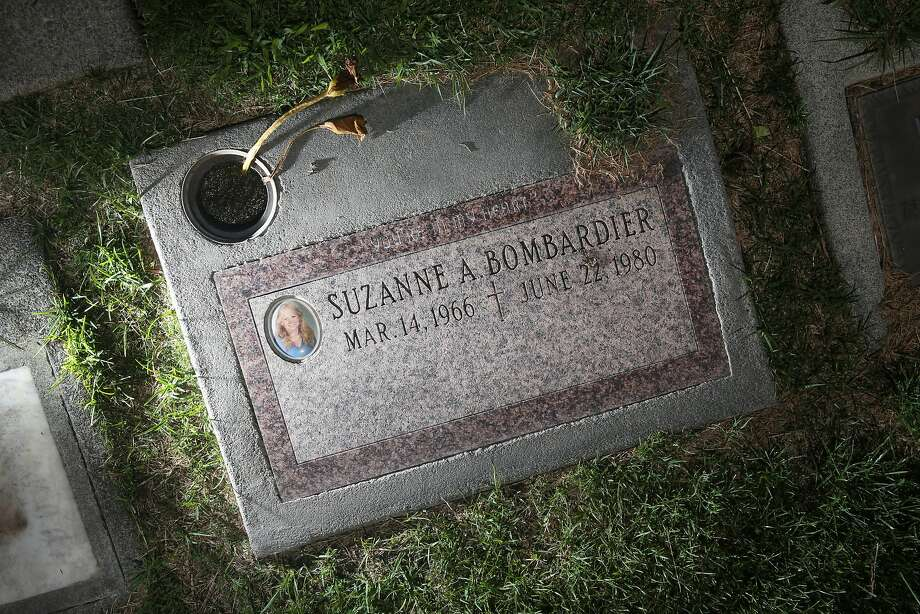 The headstone of Suzanne Bombardier at Queen of Heaven Cemetery is seen on Monday, June 22, 2015 in Lafayette, Calif. Photo: Lea Suzuki, The Chronicle