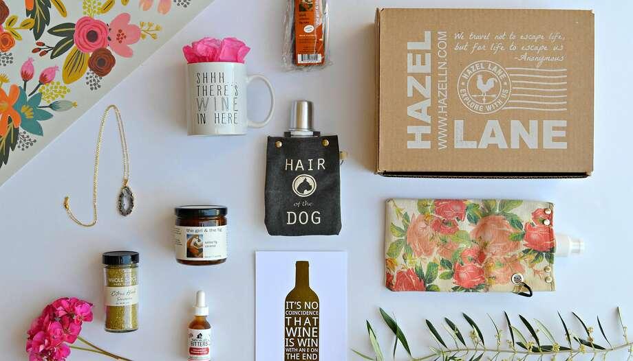 Hazel Lane Napa gift box. Photo: Hazel Lane