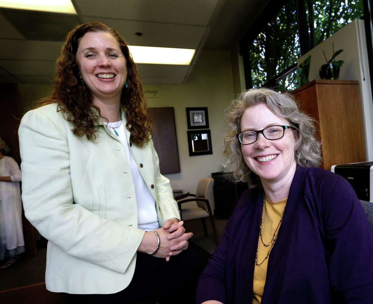 Dr. Pamela Miner (right) and nurse Mary Sayre work for Housecall Providers, which is participating in Medicare's Independent at Home demonstration project. The project is testing how well a house call approach really works and how to pay for it.