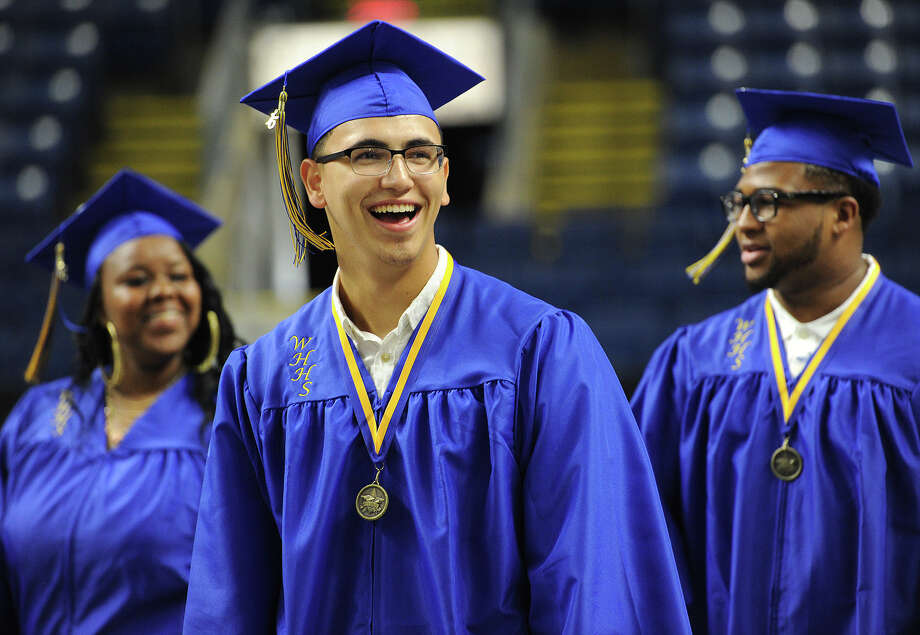 Harding High School Graduation at the Webster Bank Arena in Bridgeport, Conn. on Monday, June 22, 2015. Photo: Brian A. Pounds, Hearst Connecticut Media / Connecticut Post