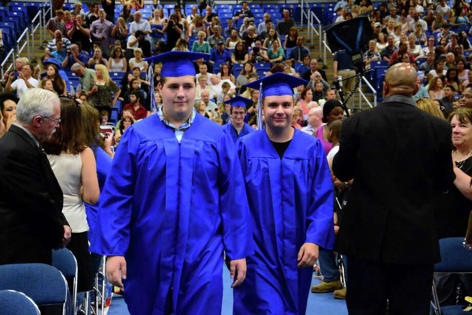 Henry Abbott Technical High Schools Commencement Ceremony was held at Western Connecticut State University's O'Neill Center on Monday, June 22, 2015. Photo: Lisa Weir / For The Newstimes / The News-Times Freelance