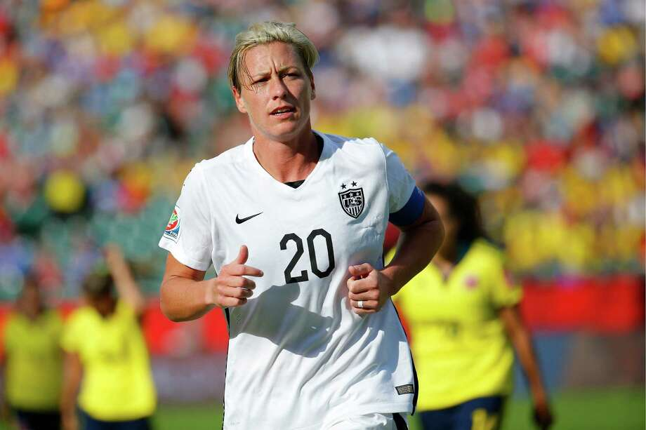 U.S. veteran Abby Wambach knows the team had a significant win when it beat top-ranked Gemany, but the challenge only intensifies during the final against Japan on Sunday. Photo: Kevin C. Cox, Getty Images / 2015 Getty Images