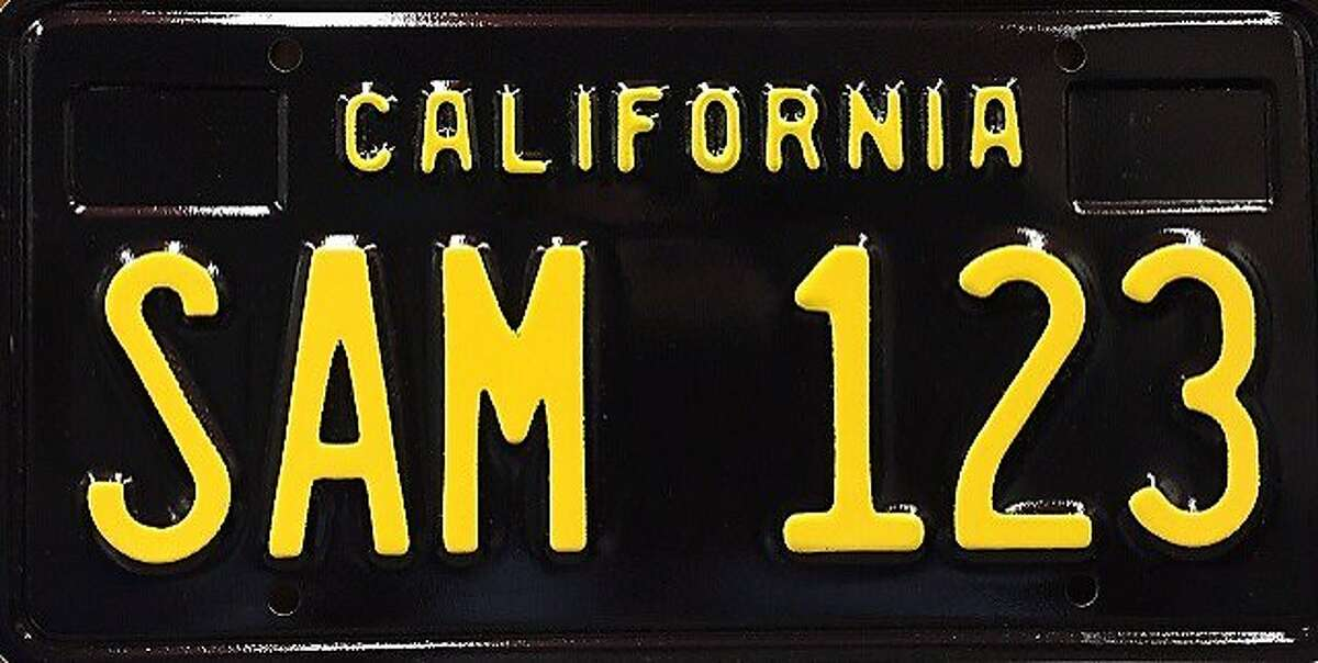 The California Department of Motor Vehicles announced Monday that it would begin reissuing the state's black license plates, originally issued between 1963 and 1969.
