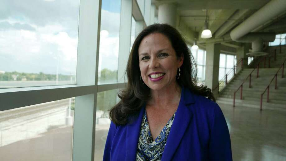 Mary Ullmann Japhet is very influential in San Antonio sports. She has been involved with the Mayor's Fitness Council, Siclovia, and is currently the senior vice president, communications and community engagement, at San Antonio Sports.  June 17, 2015. Photo: Billy Calzada, Staff / San Antonio Express-News / San Antonio Express-News
