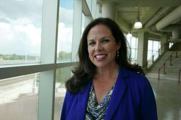 Mary Ullmann Japhet is very influential in San Antonio sports. She has been involved with the Mayor's Fitness Council, Siclovia, and is currently the senior vice president, communications and community engagement, at San Antonio Sports.  June 17, 2015.