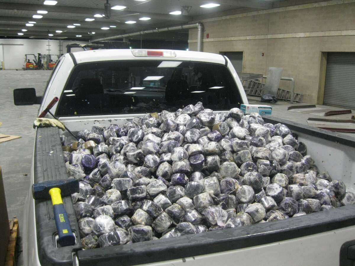 Border Protection officials found 3,874 pounds of marijuana in a shipment of coconuts June 19 at the Pharr-Reynosa International Bridge.
