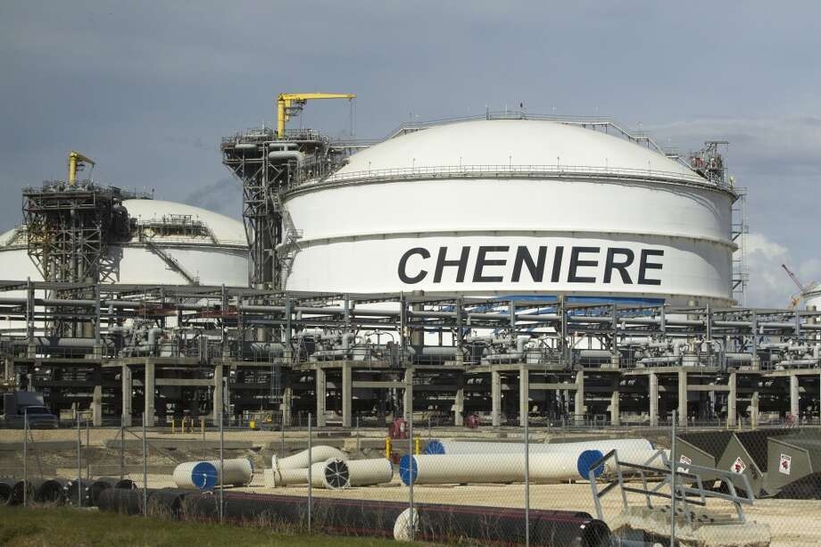LNG storage tanks are seen at the Cheniere's Sabine Pass LNG facility Tuesday, Oct. 28, 2014, in Cameron, Louisiana.  (J. Patric Schneider / For the Chronicle ) Photo: J. Patric Schneider, For The Chronicle