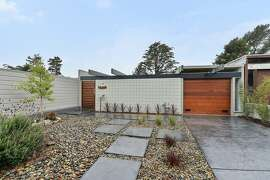 1027 Duncan St. in San Francisco's Diamond Heights neighborhood remodeled contemporary Eichler.