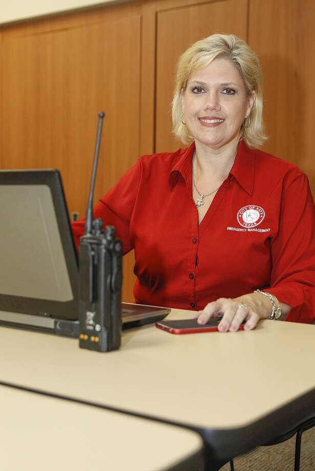 In this file photo dated June 2015, Maria Galvez is the city of Katy emergency management coordinator. Photo: Diana L. Porter, Freelance / © Diana L. Porter