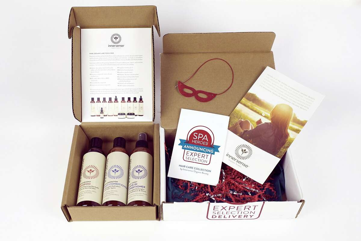 Spa Heroes Organic Hair Care Collection featuring Innersense products.