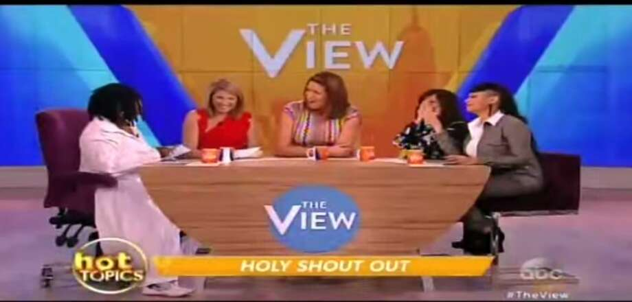"The panelists on ""The View"" were tricked by a fake story regarding San Antonio Pastor John Hagee, whom the story claimed had said women who say ""God"" during sex should be put in jail."