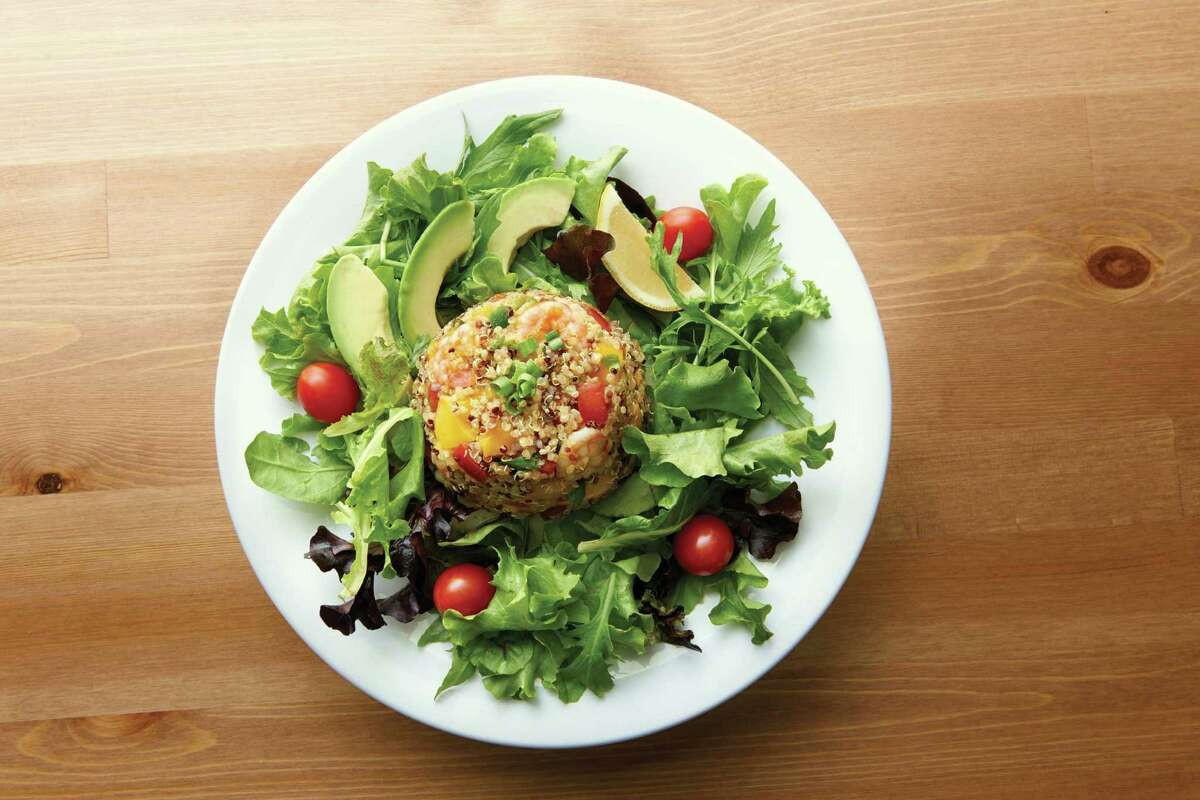 Chefs from Jason's Deli worked with University of Texas MD Anderson Cancer Center dietitians and cancer prevention researchers to create a new salad for the restaurant's menu. The Quinoa, Shrimp and Mango Salad was created as part of the Strike Through Cancer campaign on going at area Jason's Deli restaurant locations.