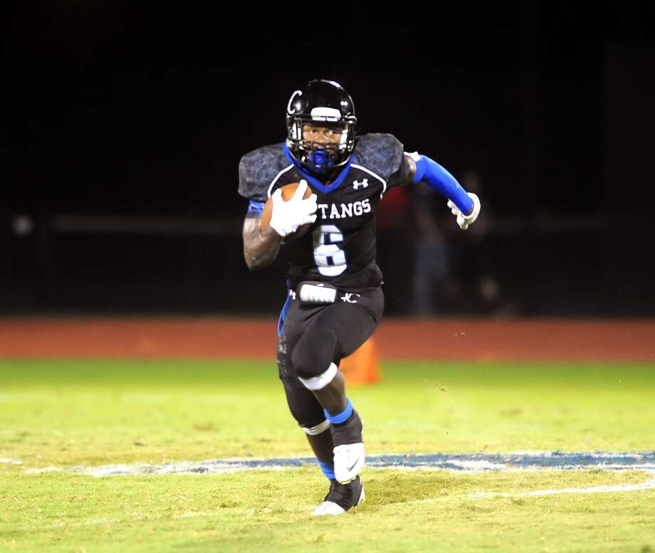 Houston Christian running back Ahonore Varner is among the key returnees who hope to lead the Mustangs to their first-ever Southwest Preparatory Conference championship. Photo: Eddy Matchette, Freelance / Freelance