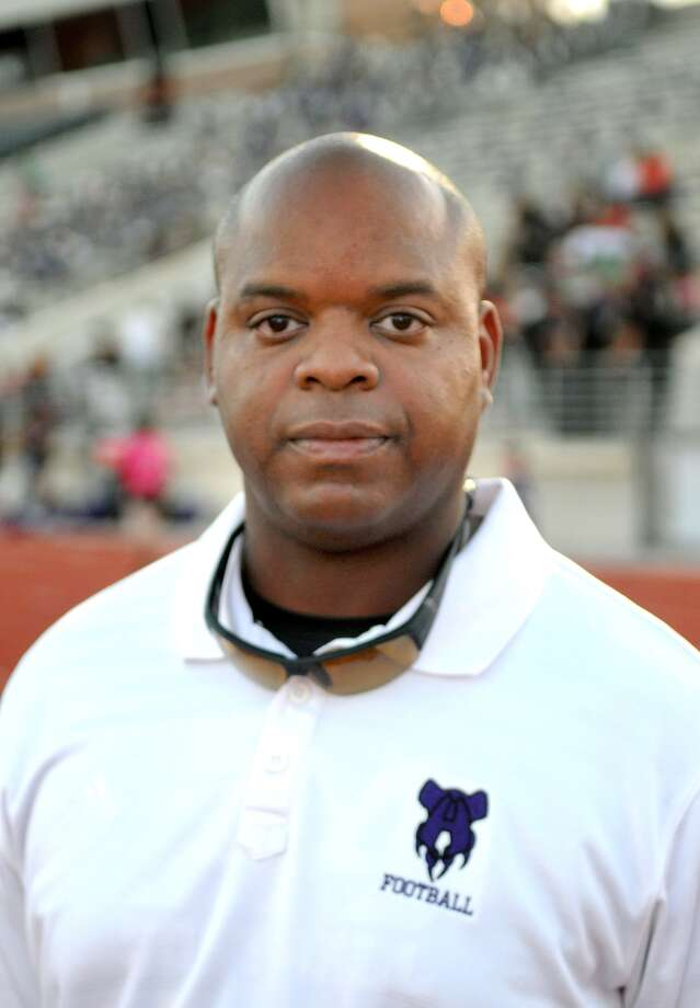 Charles West, Humble Head Football Coach Photo: Jerry Baker, Freelance