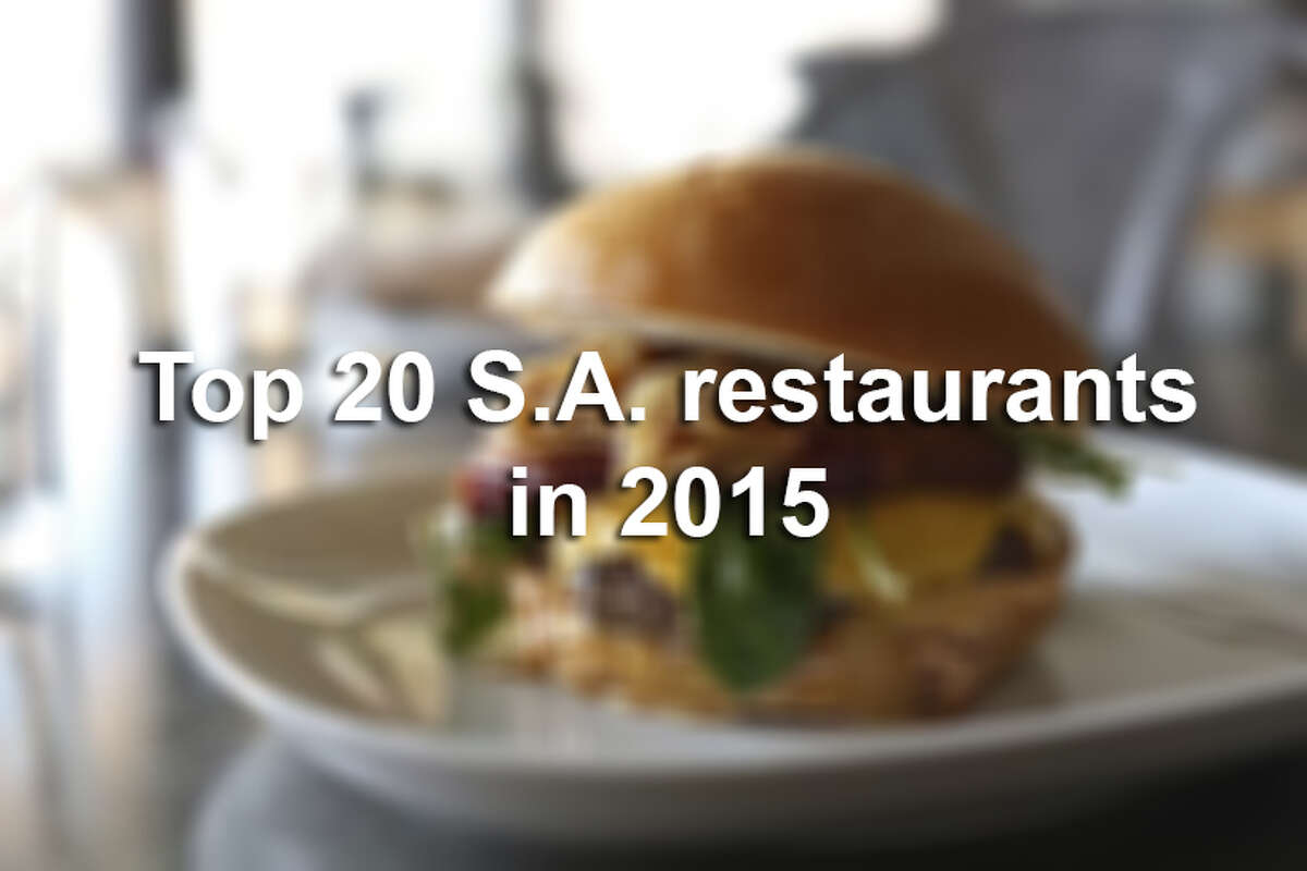 Here are the San Antonio Express-News critic's picks for the top 20 food spots of the year.