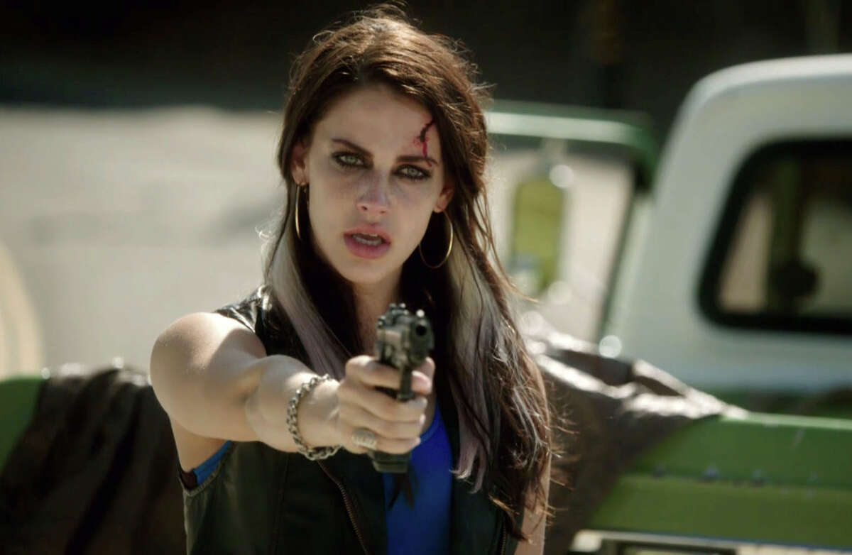 Jessica Lowndes takes aim at Will Ferrell in