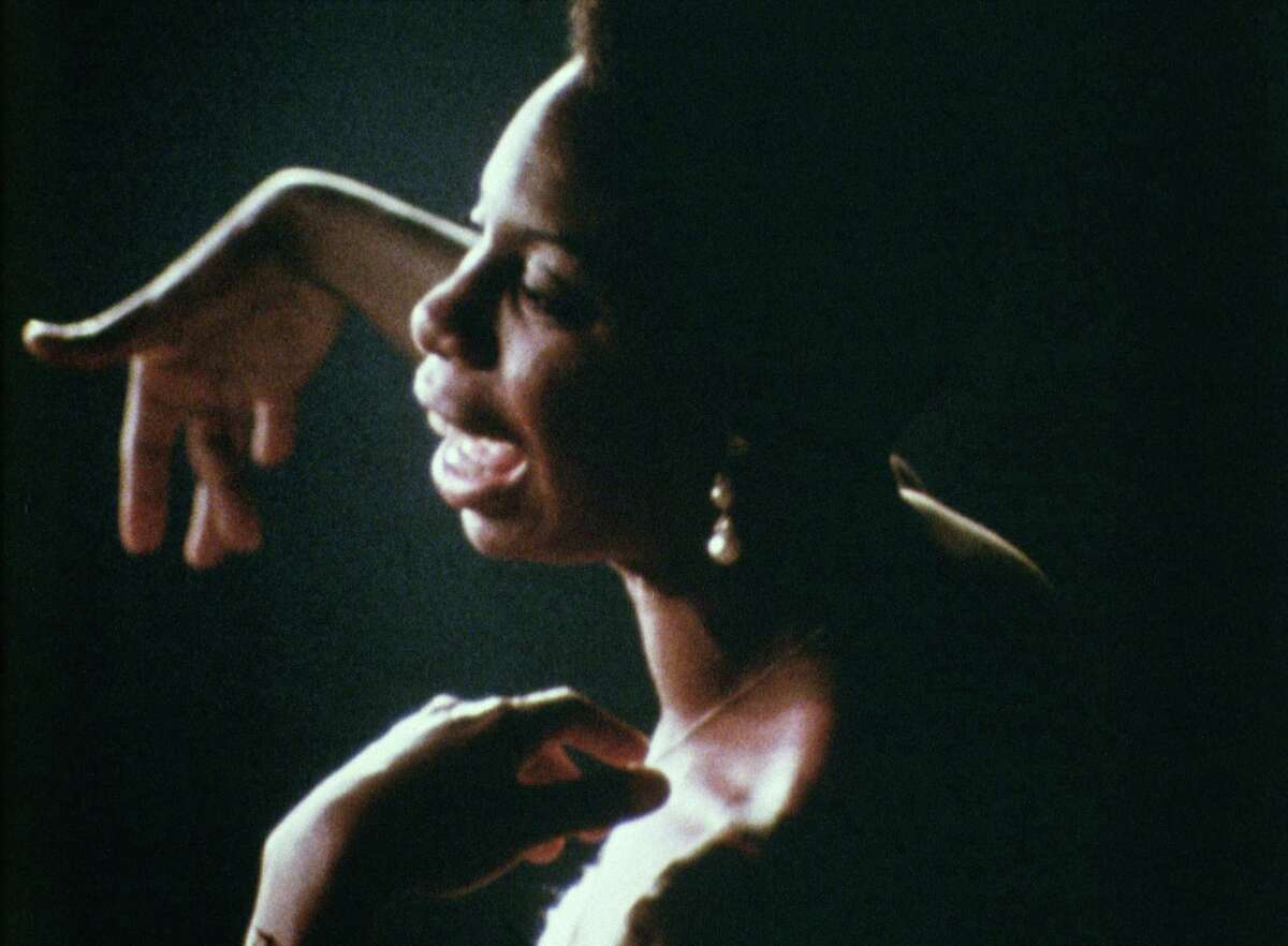 Jazz/folk singer and civil rights activist Nina Simone's voice is central to the documentary