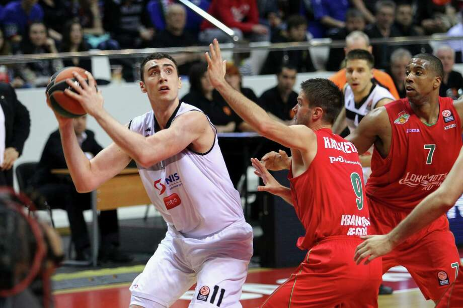His first game in the NBA will make him the 17th Serbia-born athlete to ever play in the NBA/ABANikola is from Novi Sad, Serbia. He came from a Serbian league.Source: Basketball Reference Photo: Marina Kobzeva, Contributor / EB Via Getty Images / 2014 Euroleague Basketball