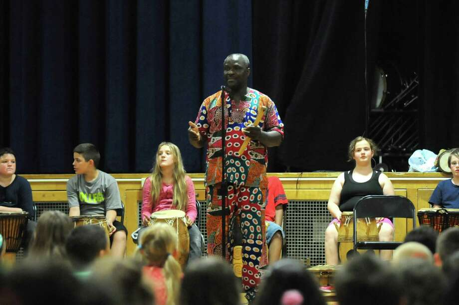Drumbeats in Schenectady cap off a musician's visit - Times Union